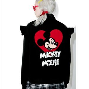 Lazy Oaf Mickey Mouse jacket NWT small